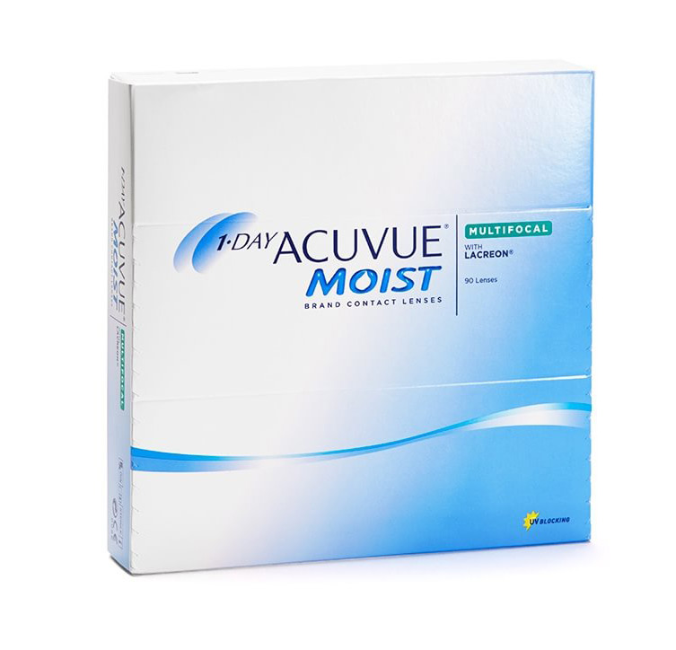1-Day Acuvue Moist Multifocal 90box