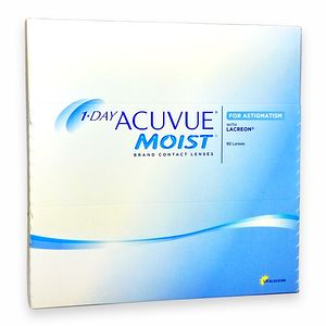 1-Day Acuvue Moist for Astigmatism (90/box)