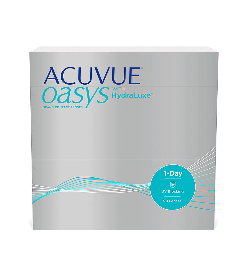 Acuvue Oasys 1-day with HydraLuxe (90)